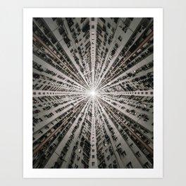 Macau Lookup Art Print