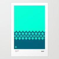 Jacquard 02 Art Print