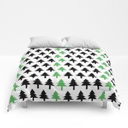 Green tree Comforters