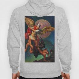 Saint Michael the Warrior Archangel Hoody