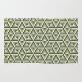 hipster geometric pattern. grunge texture Rug
