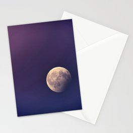 Nigh sky and moon Stationery Cards