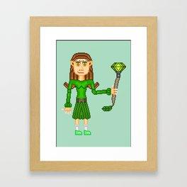 Clara Dolmen Framed Art Print