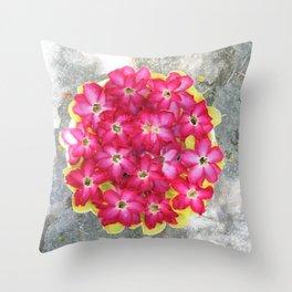 The floweress Throw Pillow