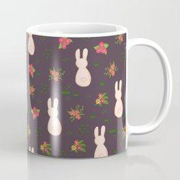 Flower Bunnies Coffee Mug
