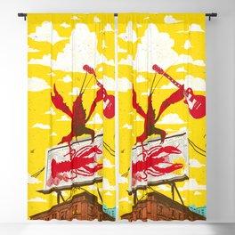 CRAWFISH BOIL II Blackout Curtain