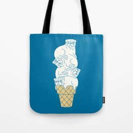 Pug Ice Cream Tote Bag