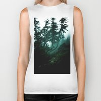 twilight Biker Tanks featuring Twilight by Christine Workman