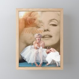 Marilyn Portrait Collage 3 Framed Mini Art Print