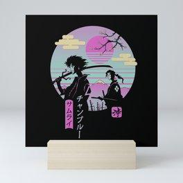 Samurai Chillhop Mini Art Print