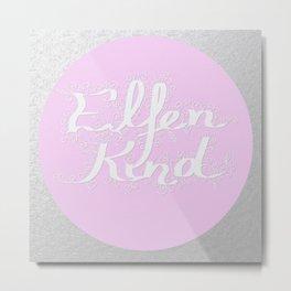 Elfenkind (Child of an Elf) Metal Print