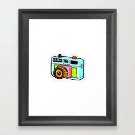 Holga camera Framed Art Print