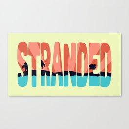 STR\NDED Canvas Print