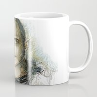 jesse pinkman Mugs featuring Jesse Pinkman - Breaking Bad by Lisa Lemoine