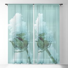 Masked :) Sheer Curtain