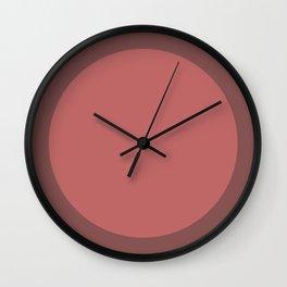 Old Rose Dot V2 Wall Clock