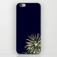coconut wishes iPhone & iPod Skins featuring Wishes by Molly M Grubbs
