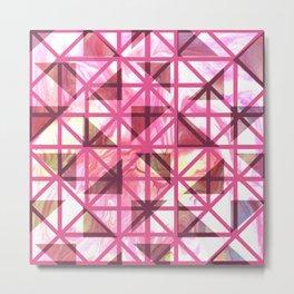 Geometric Shapes: Triangles 05 Metal Print