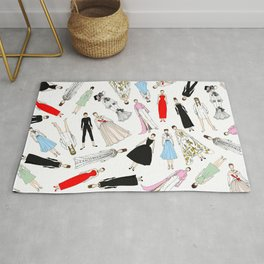 Audrey Circle Fashion Rug