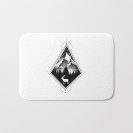 NORTHERN MOUNTAINS IV Bath Mat