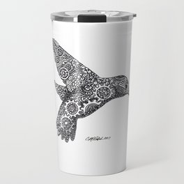 Clockwork Hummingbird Travel Mug