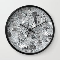marina Wall Clocks featuring Marina by Anchobee