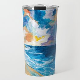 Stormy Sea Travel Mug