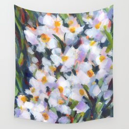 Deep in Daffodils Wall Tapestry