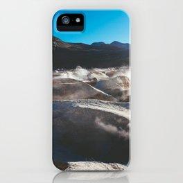 Geysers in the Atacama Desert, Bolivia iPhone Case