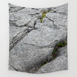 Poulnabrone Stone Texture Wall Tapestry