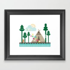 Midsummer Dreams Framed Art Print