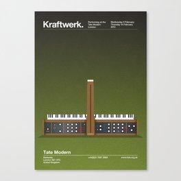 Kraftwerk at the Tate Modern Canvas Print