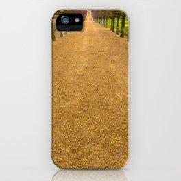 Orange Path iPhone Case