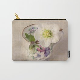 January Flower Carry-All Pouch