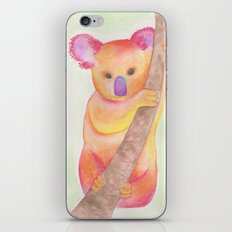 Colorful Koala iPhone Skin
