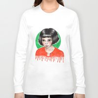 amelie Long Sleeve T-shirts featuring Amelie by ARTEMYSA