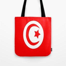 Flag of Tunisia Tote Bag