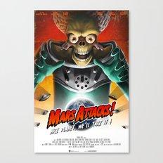 Mars Attacks ! Canvas Print