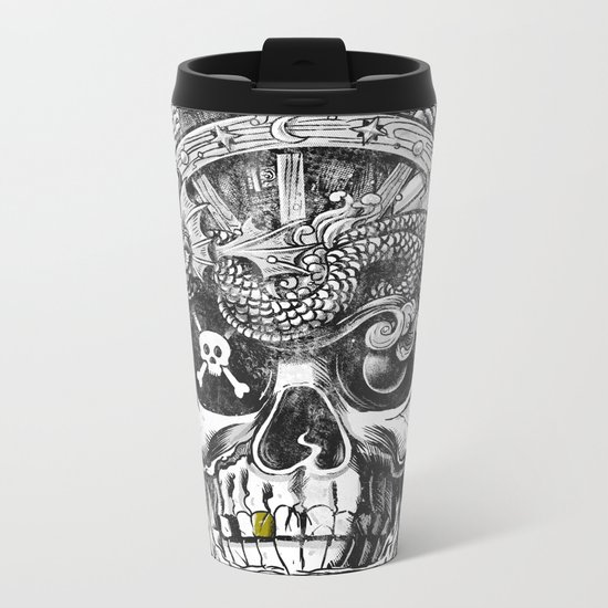 No Quarter Metal Travel Mug