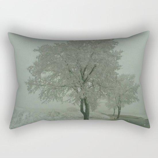 Winter Landscape - Austria Rectangular Pillow