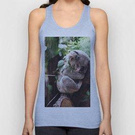 Cute Koala relaxing in a Tree Unisex Tank Top