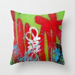 Jardin De Graffiti Throw Pillow