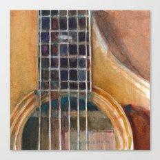 Taylor Acoustic Guitar Canvas Print