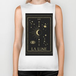 The Moon or La Lune Gold Edition Biker Tank