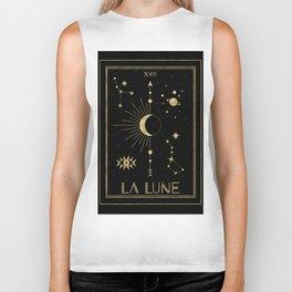 The Moon or La Lune Gold Edition Biker Tank