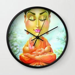 Siddhartha Gautama Buddha Wall Clock