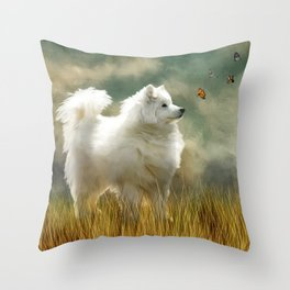 A Brief Encounter Throw Pillow