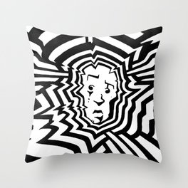 Radiation #1 Throw Pillow