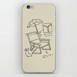 Homer's Time Machine iPhone Skin