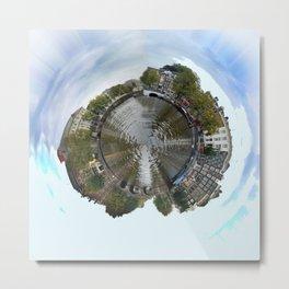 Planet Amsterdam Metal Print